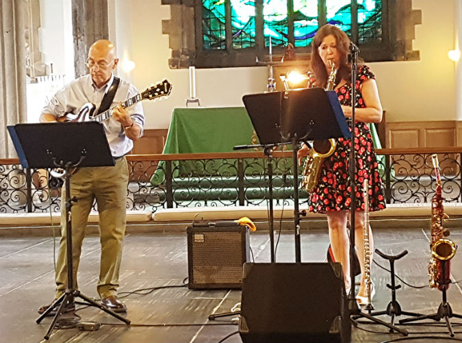 Refreshing jazz salad from Davies and Weekes brings St Andrew's Summer Lunchtime Recital Series to a close