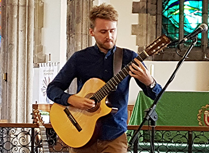 Too good to miss Will McNicol at The Minster Church of St Andrew, Plymouth