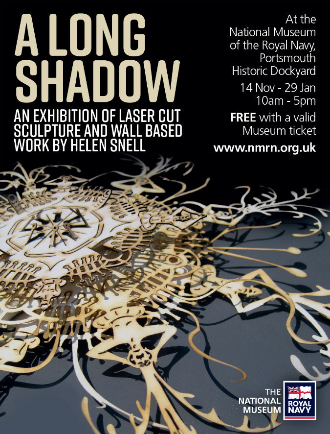 Rethink our shared history: Helen Snell's A Long Shadow exhibition at The National Museum of the Royal Navy Portsmouth