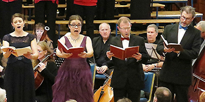 Perfect Advent gift from Plymouth Philharmonic Choir at the Guildhall