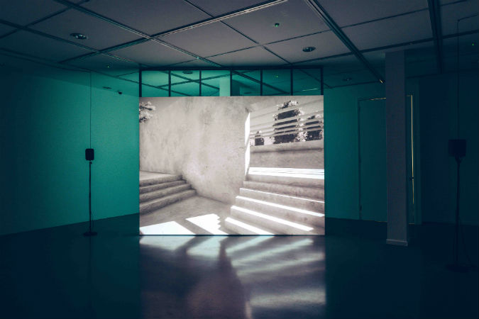 Digital innovation in Oliver Sutherland's solo show in The Gallery at Plymouth College of Art