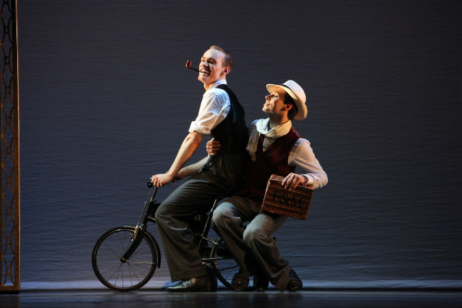 Matthew Bourne's Early Adventures at Exeter's Northcott Theatre