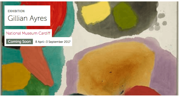 Abstract pioneer: Gillian Ayres untold story in largest UK exhibition at National Museum Cardiff