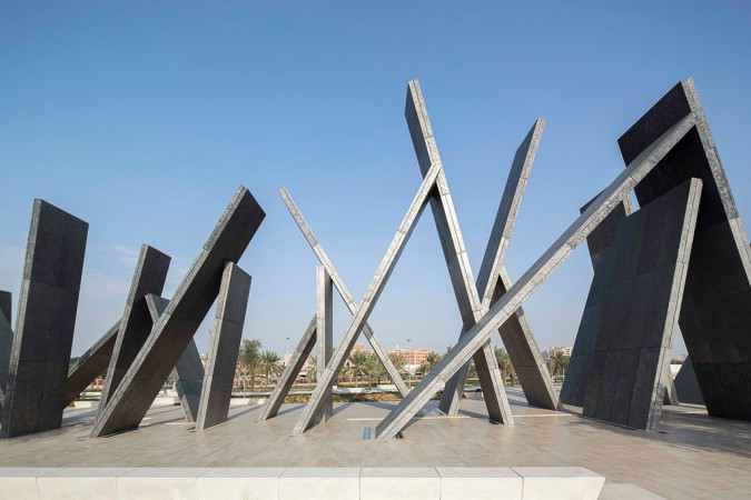 Artist Idris Khan and UAP complete UAE's first Memorial