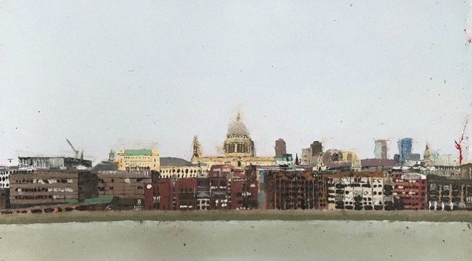 Naish Kieran's Vew from Tate Modern