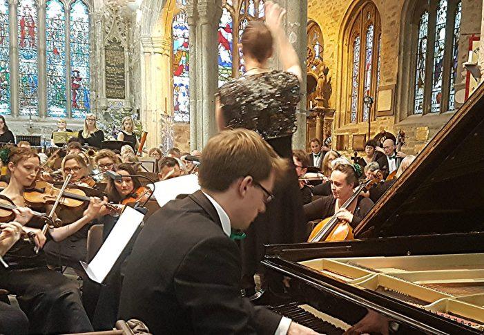 Inspirational North Devon Sinfonia show pzaz at Tavistock Parish Church for special arts festival concert