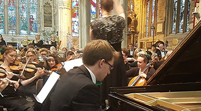 Inspirational North Devon Sinfonia show pzaz at Tavistock Parish Church for special arts festival concert