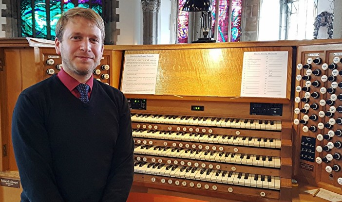 Lasting impression of intimate power: Ed Jones kicks off Summer Recitals at St Andrew's, Plymouth