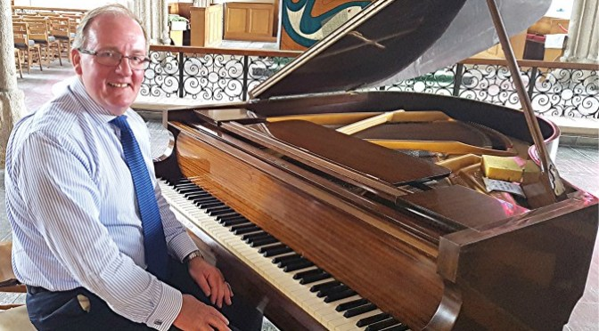 Power, delicacy, erudition and wit: Sean Sweeney at the Minster Church of St Andrew