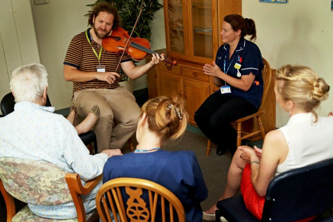 Bournemouth Symphony Orchestra shortlisted as finalists in Alzheimer's Society Dementia Friendly Awards 2017