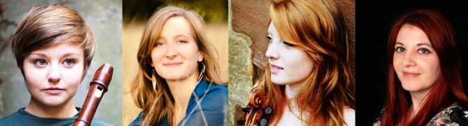 Katie Cowling comes home with Convivio as part of Totnes Early Music Society concert series