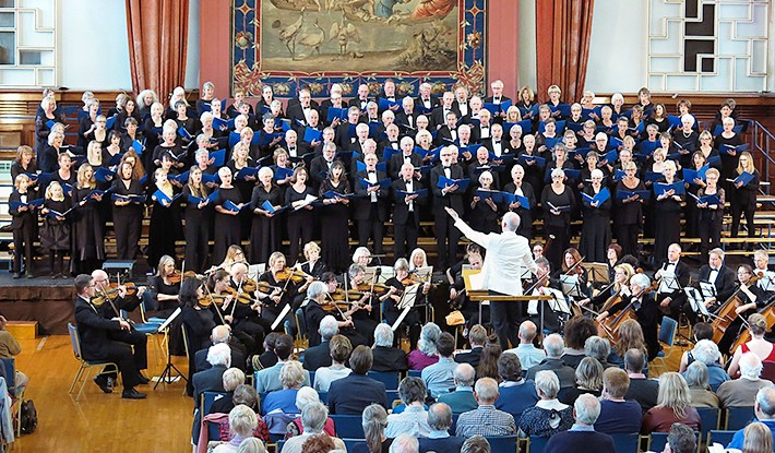 Plymouth Philharmonic Choir perform Monteverdi's Vespers