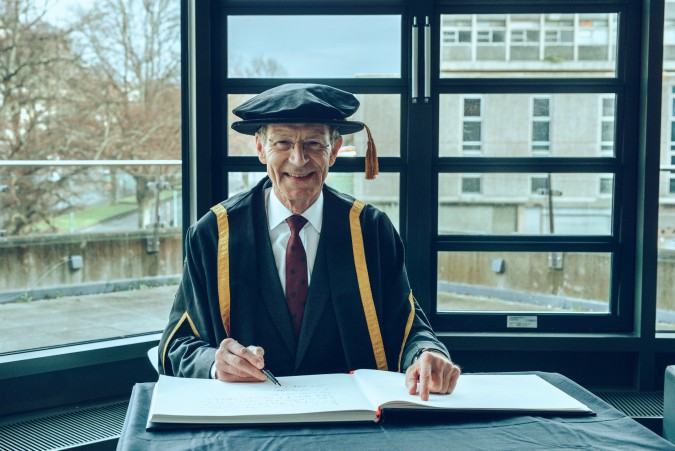 Plymouth College of Art awards Honorary Fellowships to Sir Nicholas Serota and Richard Deacon