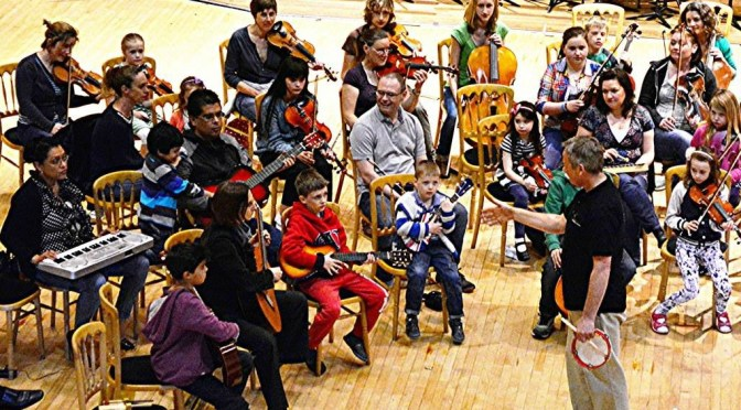 Musical fun for everyone with the BSO's Exeter Community Family Orchestra
