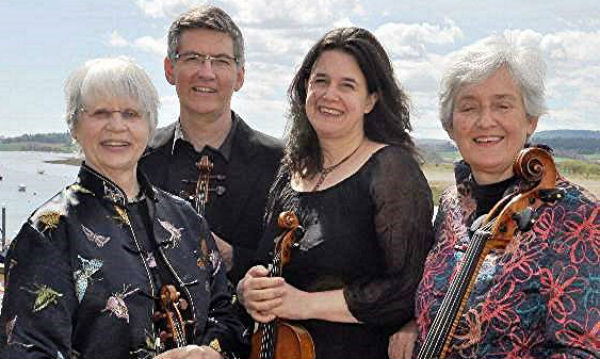 Divertimento String Quartet concert tour in January and February