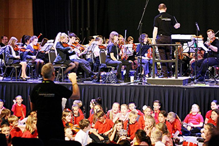 Students join BSO musicians for 'Torbay Symphony for All'
