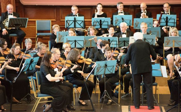 Plymouth Symphony Orchestra plays at Sterts, Liskeard, and Plymouth Guildhall