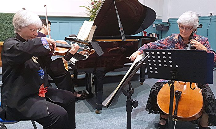 Pure enjoyment from the first to last note | Divertimento Piano Trio at Sherwell United Church. Philip R Buttall reviews