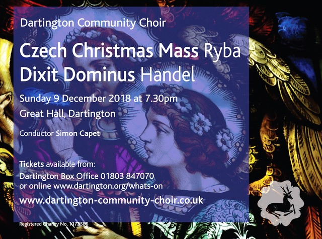 Challenging and charming Dartington Community Choir get set for their Christmas concert