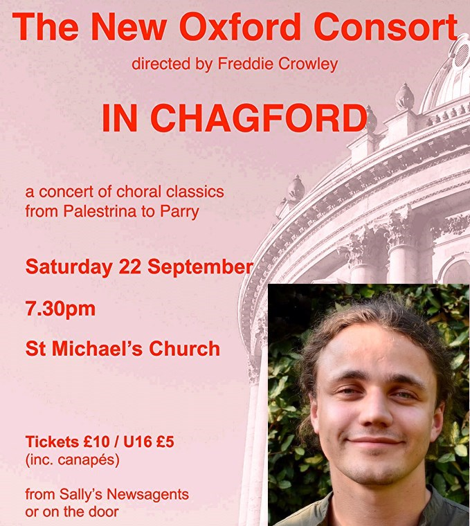 The New Oxford Consort sings choral classics from Palestrina to Parry