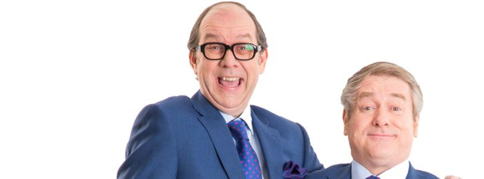 All the right words… An Evening Of Eric And Ern on tour