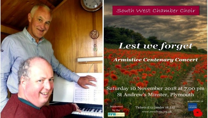 South West Chamber Choir: Lest We Forget
