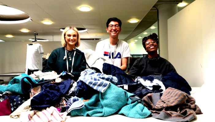 Falmouth Uni style students get fabric help from Weird Fish