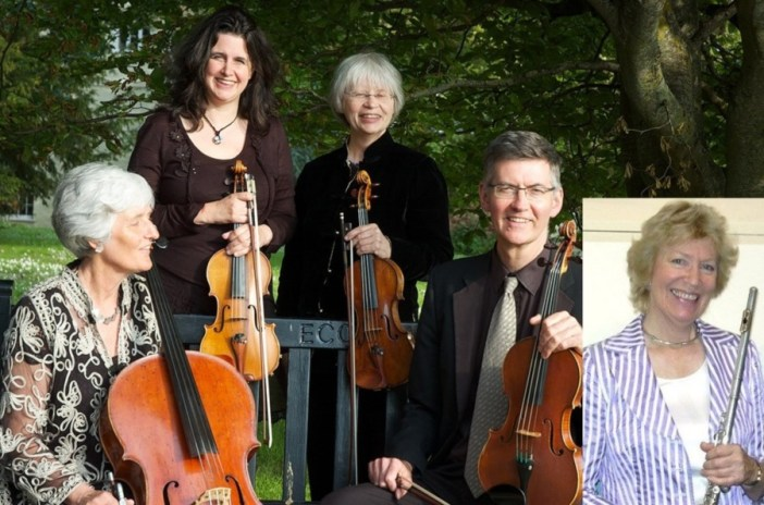 Lovely concerts for Divertimento Flute Quartet  /  Piano Trio