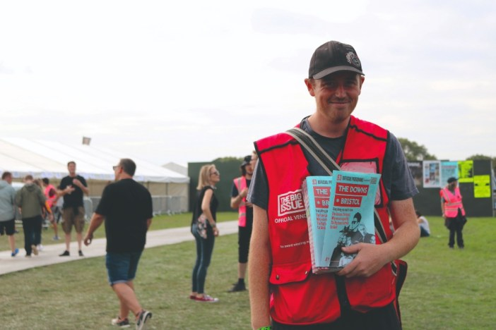 The Downs Bristol and The Big Issue share values for fest