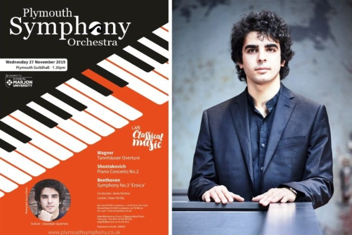 Giuseppe Guarrera joins the PSO as concerto soloist