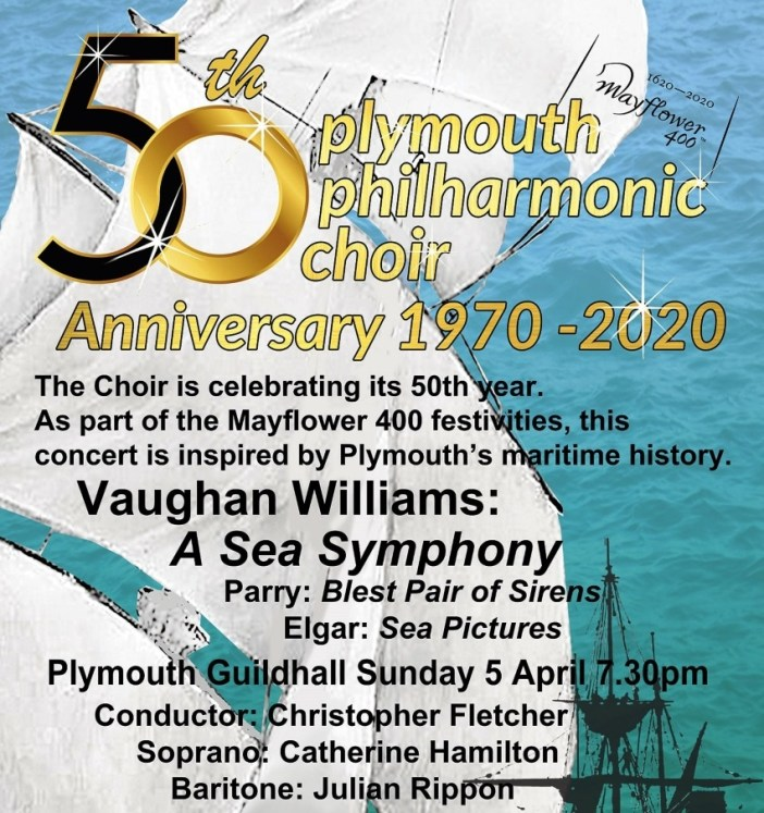 Plymouth Philharmonic Choir 50th anniversary year