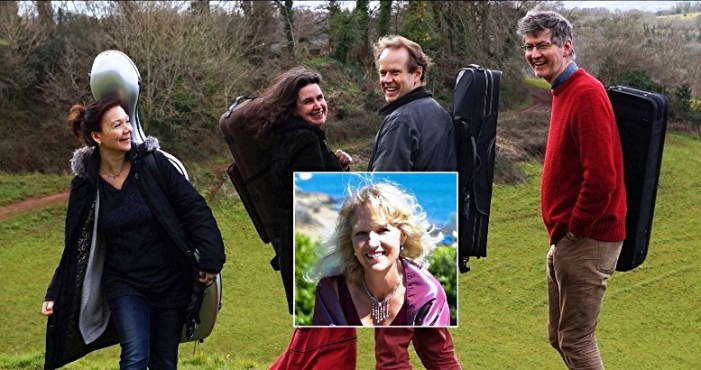 Haldon Quartet Christmas Concert with Catherine Hamilton | Light In Darkness