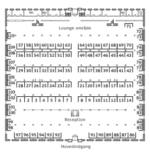 Hall Plan for Art for All