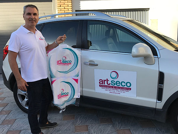 home delivery service by Art Seco en Fuengirola y Mijas