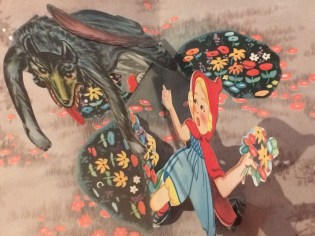 Pop-up version of Little Red Riding Hood from the Osborne Collection