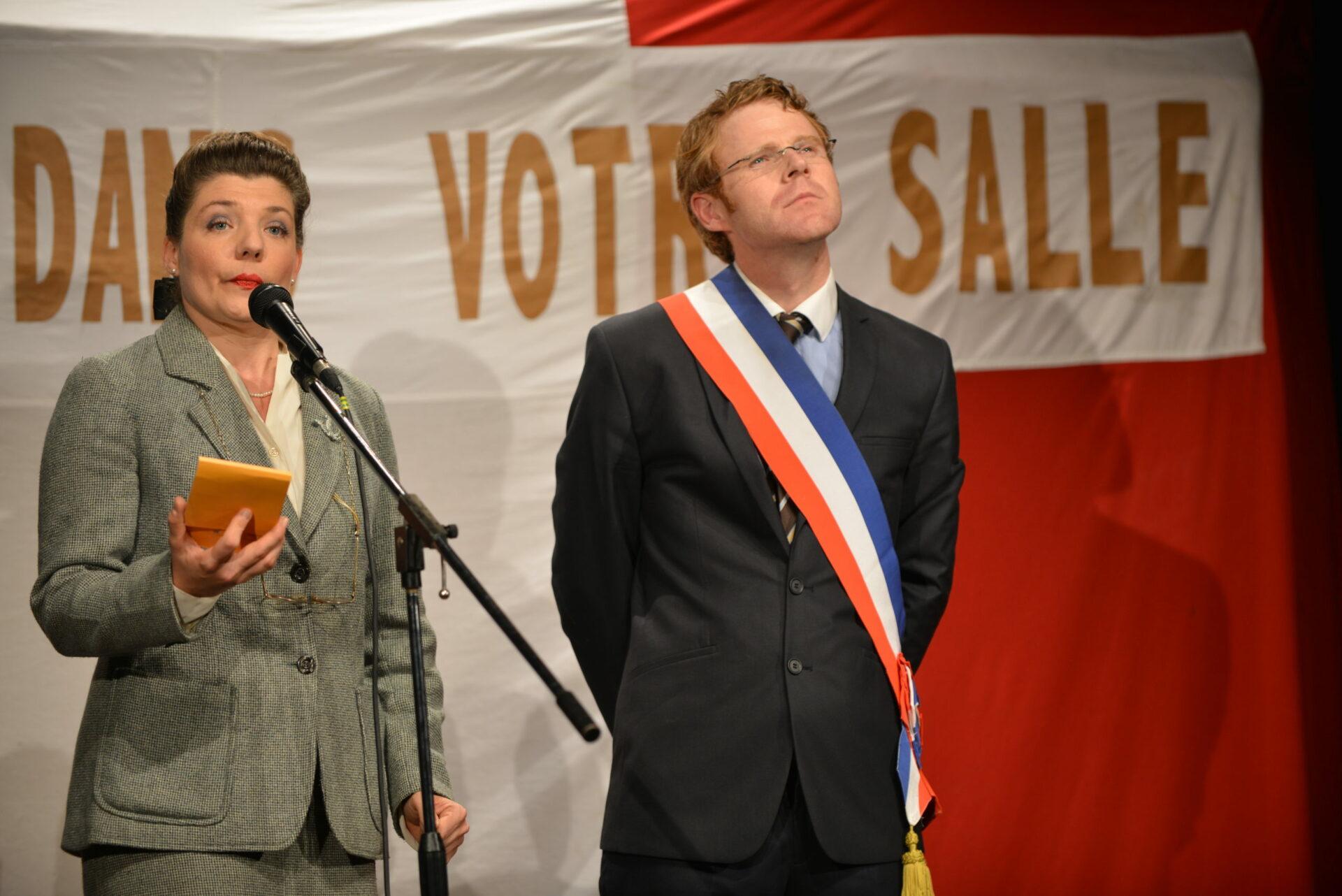 Eliane + maire