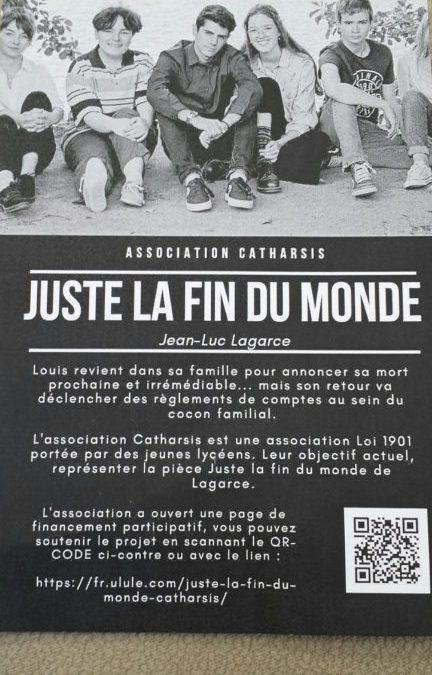 JUSTE LA FIN DU MONDE de Jean-Luc Lagarce