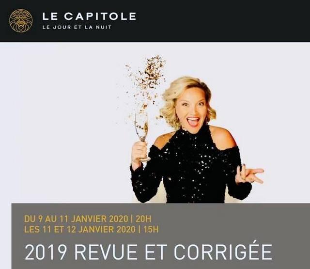 2019 Revue et Corrigée au Capitole de Québec