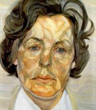 lucian-freud-woman-in-a-white-shirt-1957