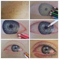 How to Draw a Watery Eye