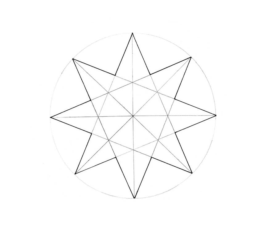 дом картинки звезда как нарисовать отличается