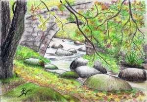 drawing by Pat Harrison aka Rainer Hillebrand