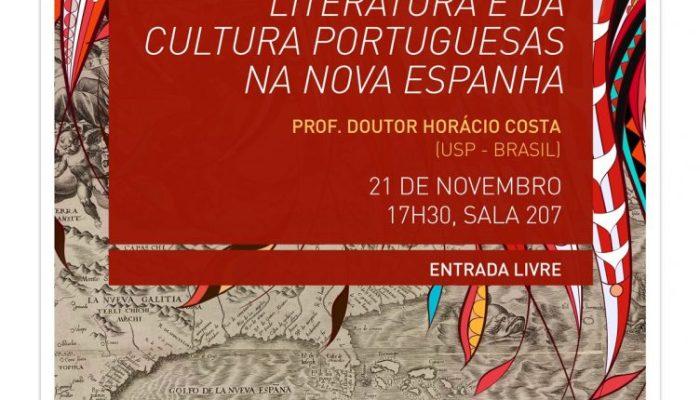 """Seminário Aberto """"A Recepção Da Literatura E Da Cultura Portuguesas Na Nova Espanha"""""""