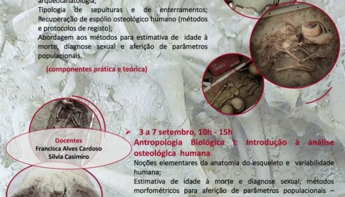 """""""Antropologia Biológica I – Introdução à Análise Osteológica Humana"""" – CRIA"""