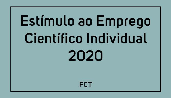 FCT Abre Concurso Estímulo Ao Emprego Científico Individual 2020