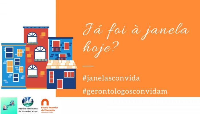 Gerontologia Social Da ESEC Associa-se à Iniciativa Janelas ConVIDA