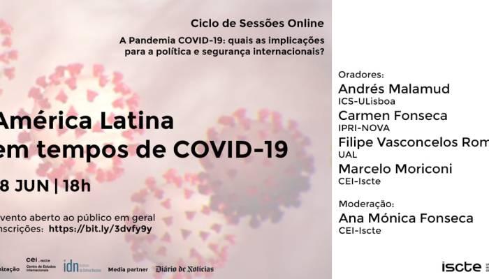 Hoje, Quinta-feira…com A Participação De Andres Malamud, Do ICS. às 18h00.