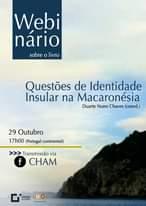 No âmbito Da Apresentação Do Livro Questões De Identidade Insular Na Macaronésia…