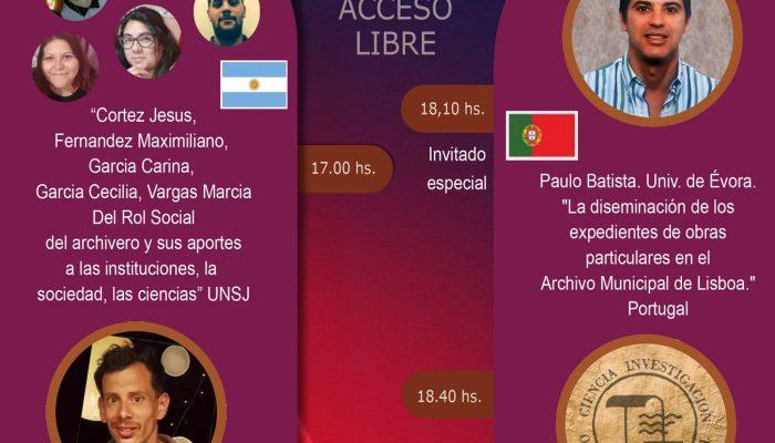 Hoje O Investigador Do CIDEHUS Paulo Batista Participará XVIII Congreso Argent…