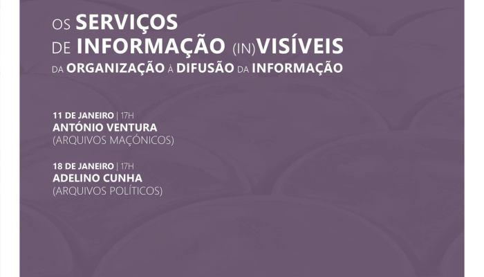 """Programa De Janeiro Dos """"Serviços De Informação (in)Visíveis: Da Organização à D…"""